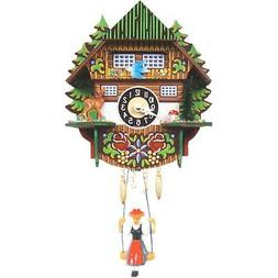0144SQ - Engstler Battery-operated Clock - Mini Size with Mu