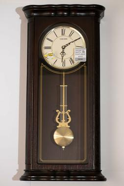 18- Melodies Seiko Decorative Wood Wall Clock with Swinging
