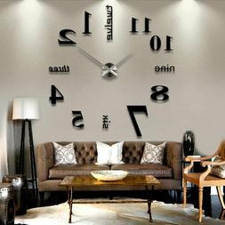 2020 Large Wall Clock Oversized Living Room Silent Decorativ