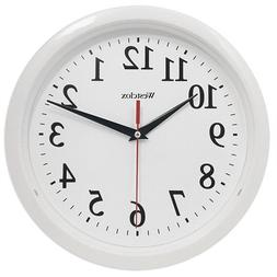 Westclox 461761 Ventura Wall Clock- White
