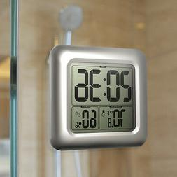 BALDR Digital Bathroom Shower Clock, Waterproof for Water Sp