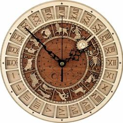 Astronomical 3D Wall Clocks Vintage Style Constellation Sile