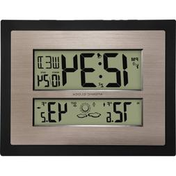 Better Homes and Gardens Atomic Digital Wall Clock with Fore