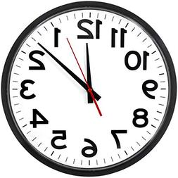 The Ultimate Wall Clock - Atomic Wall Clock, Large, Silent,