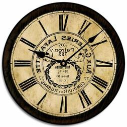 Galeries Lafayette Battery Operated  Wall Clock Ultra Quiet