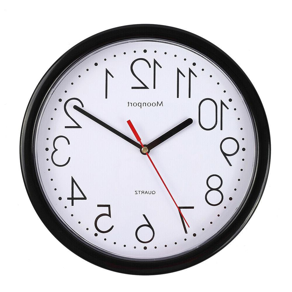 10 inch wall clock silent non ticking