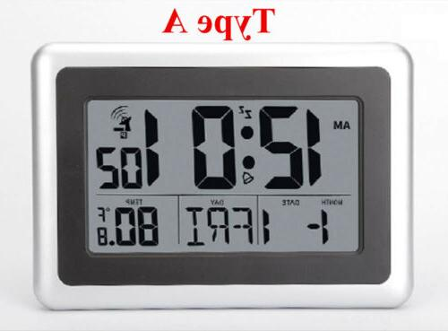 3 Siez Wall Clock&Thermometer Table Stand LARGE Temperature