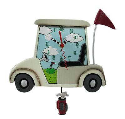 allen designs stay course whimsical pendulum wall clock