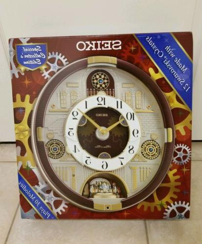 clock melodies in motion special limited edition
