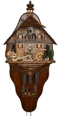 Cuckoo Clock of the year 2015 with back wall Timber haulage