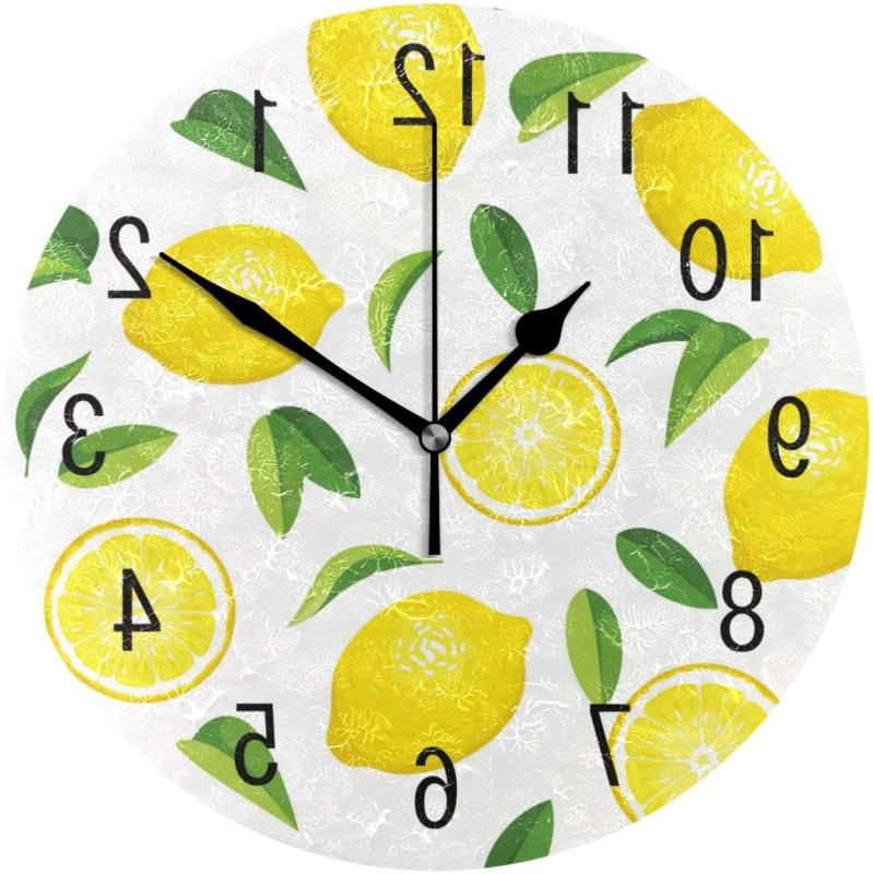 home decor summer lemon fruit leaves 9