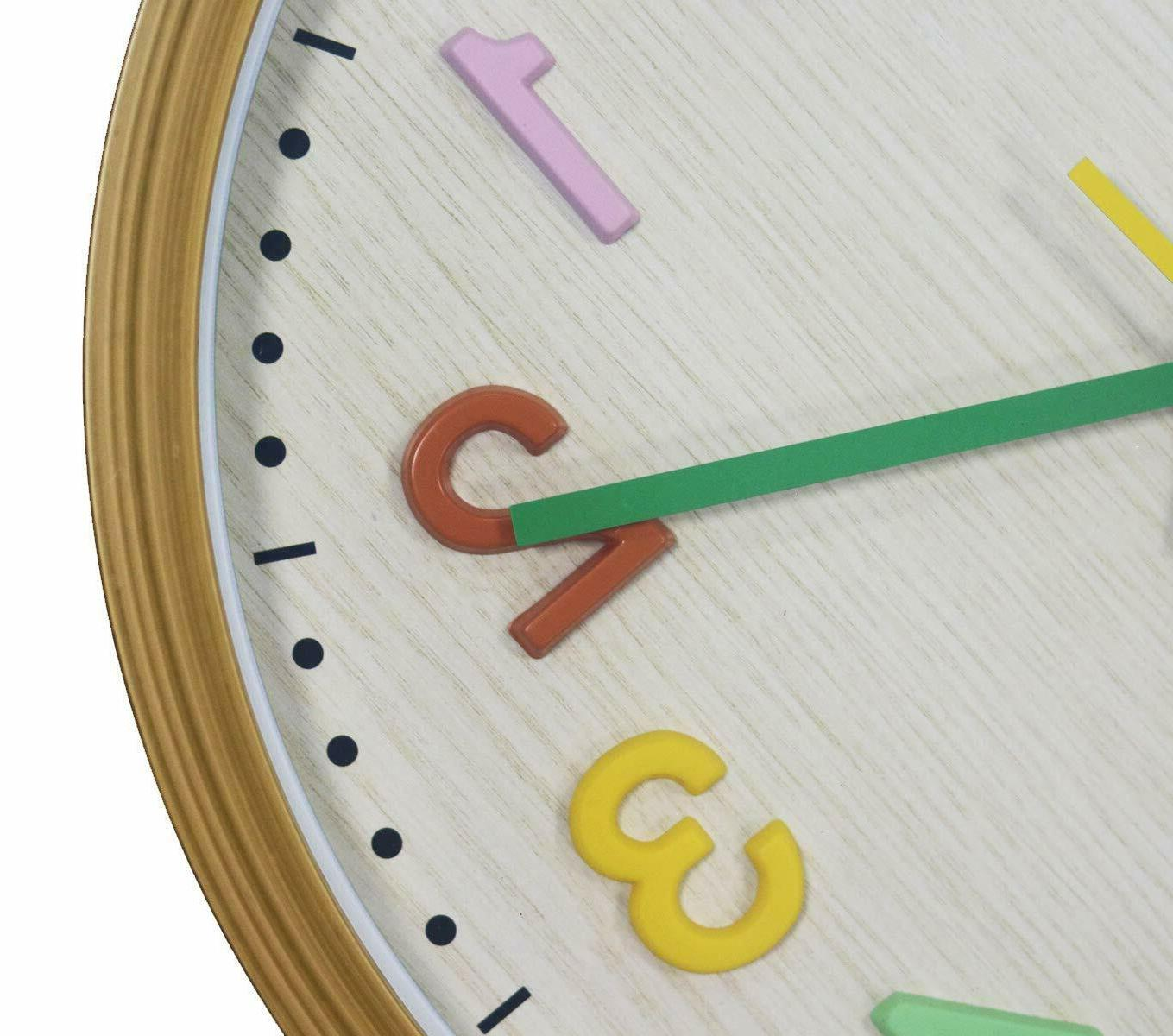 Kids Numbers Operated Non Clocks