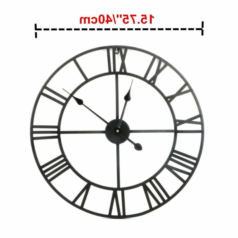 Large Outdoor Clock Open Big Round Giant