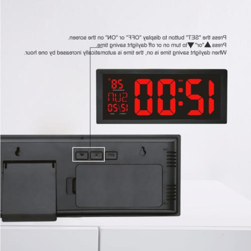 Large Screen Thermometer Modern Electronic
