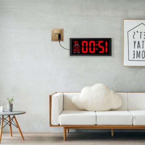 LED Large Screen Thermometer Modern