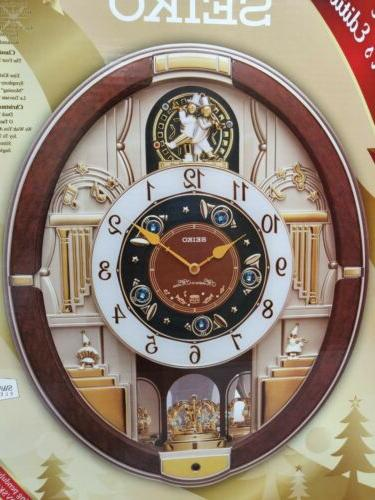 Seiko Melodies In Musical Clock Special Collectors