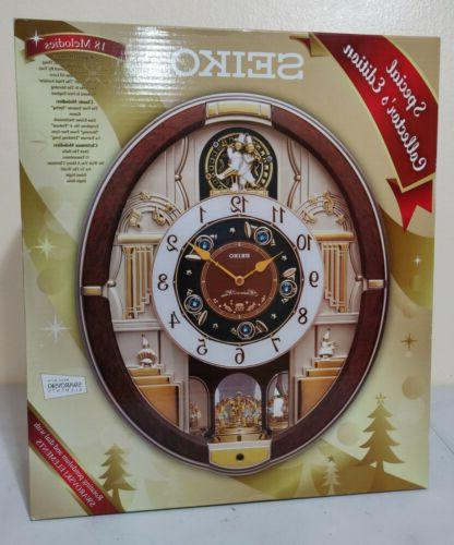 Seiko Melodies In Motion Musical Wall Clock Special Collecto