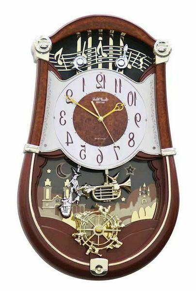 musical wall clock concerto entertainer ii 30