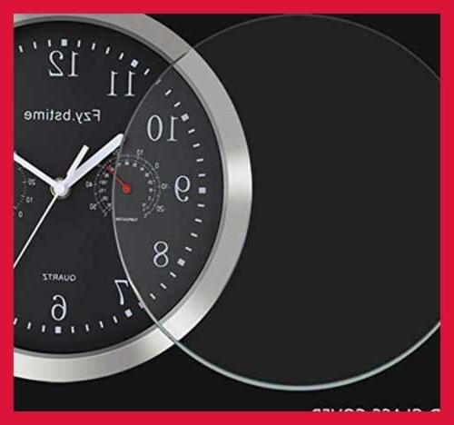 Non Clock Battery Stainless Steel 10 In
