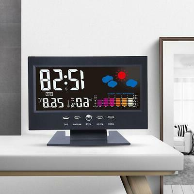 Projection Digital Alarm Snooze Color Display LED