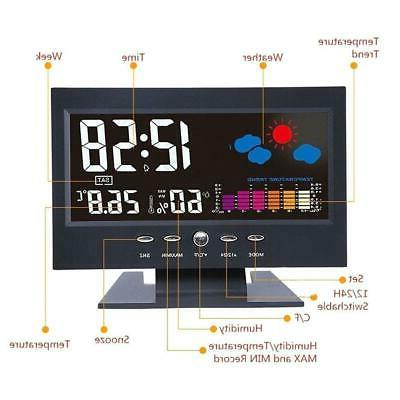 Projection Digital Alarm Snooze Color