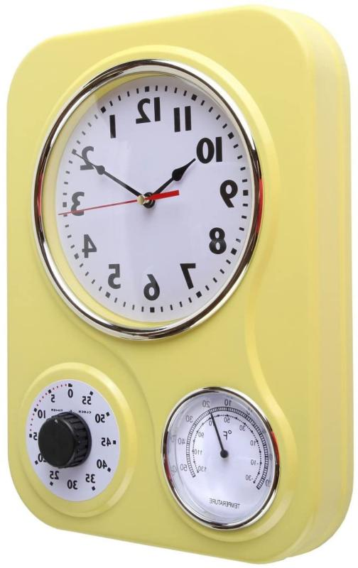 Retro Kitchen With Thermometer and 60 Minutes Timer