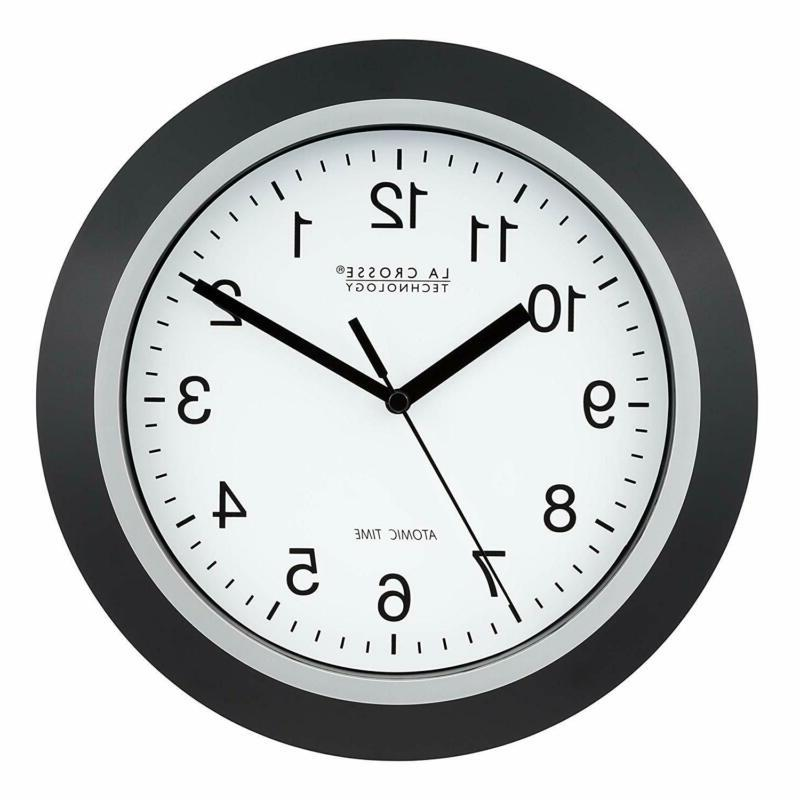 Analog Set Atomic Time Accurate Bedroom Home Decoration
