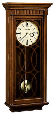 HOWARD MILLER TPIPLE CHIMMING WALL CLOCK 625-525 KATHRYN