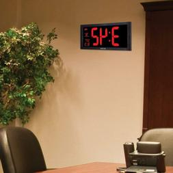 large display wall digital clock with date