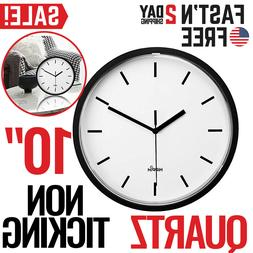 Large Wall Clock Oversized Living Room Silent Decorative Hom