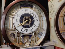 SEIKO MELODIES IN MOTION COLLECTIBLE WALL CLOCK WITH SWAROVS