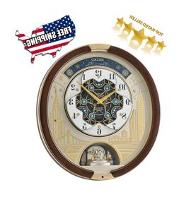 melodies in motion musical wall clock 2019