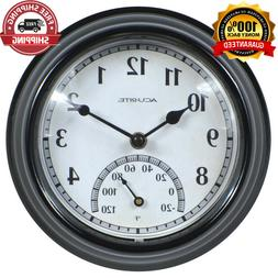 NEW LARGE WALL CLOCK Indoor Outdoor Battery Powered Analog W