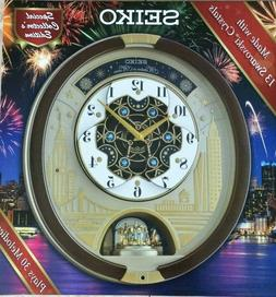 Seiko Special Edition Melodies in Motion Wall Clock with Swa