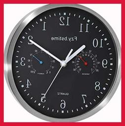 non ticking silent wall clock battery operated