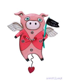 quirky pink when pigs fly pig designer
