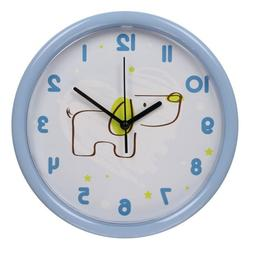 hito Silent Kids Wall Clock Non ticking 10 inch Excellent Ac