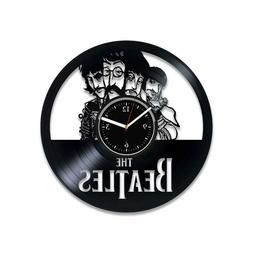 The Beatles vinyl record clock Music gift for Christmas Rock