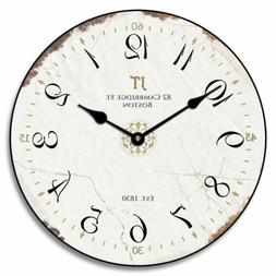 Vintage White Wall Clock Home Decor Classic Style Home Decor