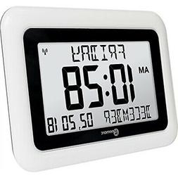 Geemarc Viso10 -Extra Large  -Atomic Clock - Clear Big Lette