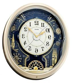 Wall Clock Melodies In Motion 7 Tune Amazing Grace Musical M