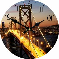 Wall Clocks Silent Watches Home Decoration Scenery Designed