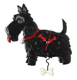 "Allen Designs ""Scottie"" Whimsical Black Scottish Terrier Dog"